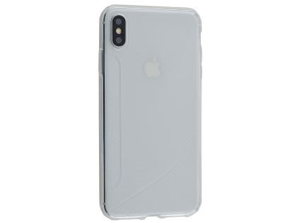 Wave Case for Apple iPhone Xs Max - Clear Soft Cover