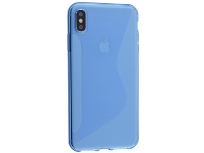 Wave Case for Apple iPhone Xs Max - Blue