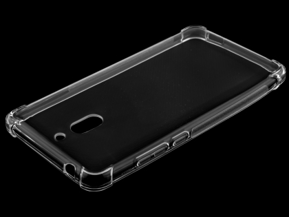 Gel Case with Bumper Edges for Nokia 2.1 - Clear Soft Cover