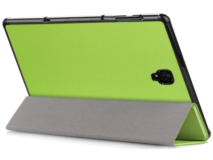 Slim Synthetic Leather Flip Case with Stand for Samsung Galaxy Tab A 10.5 - Lime Green Leather Flip Case