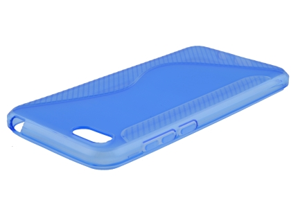 Wave Case for Huawei Y5 Prime (2018) - Blue Soft Cover