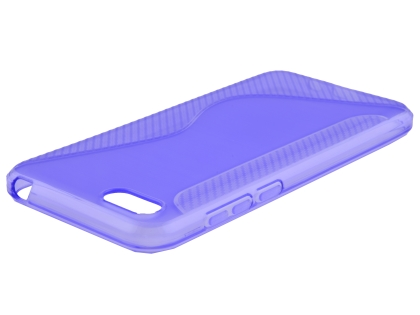 Wave Case for Huawei Y5 Prime (2018) - Purple Soft Cover