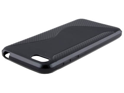 Wave Case for Huawei Y5 Prime (2018) - Black Soft Cover