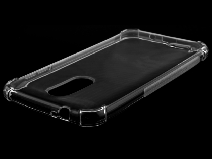 Gel Case with Bumper Edges for LG K9 / K8 (2018) - Clear Soft Cover