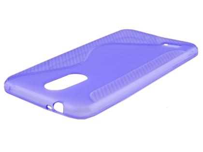 Wave Case for LG K9 / K8 (2018) - Purple Soft Cover