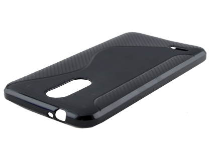 Wave Case for LG K9 / K8 (2018) - Black Soft Cover