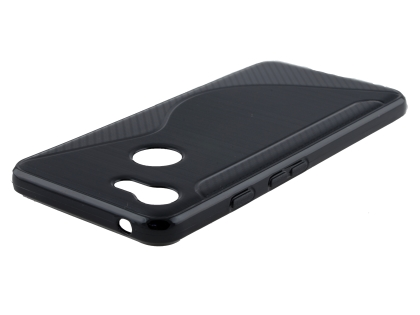 Wave Case for Google Pixel 3 - Black Soft Cover