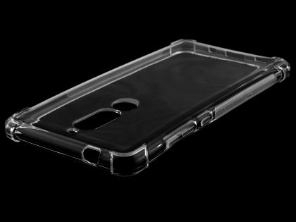 Gel Case with Bumper Edges for Nokia 5.1 - Clear Soft Cover