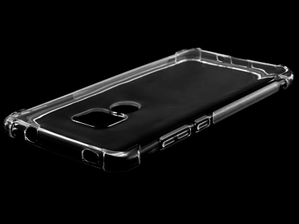 Gel Case with Bumper Edges for Huawei Mate 20 - Clear Soft Cover