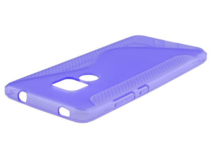 Wave Case for Huawei Mate 20 - Purple Soft Cover