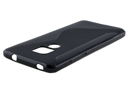 Wave Case for Huawei Mate 20 - Black Soft Cover