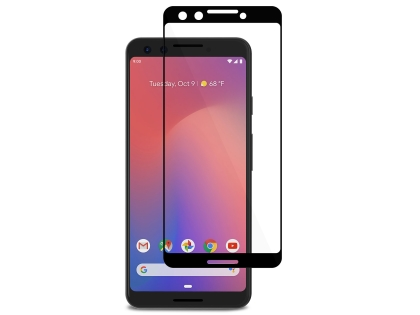 Curved Glass Screen Protector with Full Adhesive for Google Pixel 3 - Screen Protector