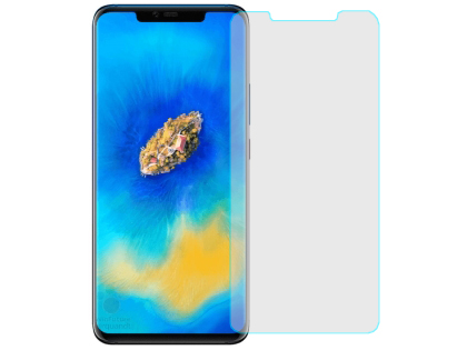 Curved Glass Screen Protector with Full Adhesive for Huawei Mate 20 Pro - Screen Protector