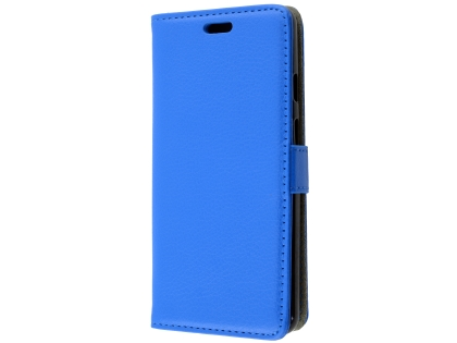 Synthetic Leather Wallet Case with Stand for Google Pixel 3XL - Blue