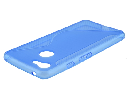 Wave Case for Google Pixel 3 - Blue Soft Cover