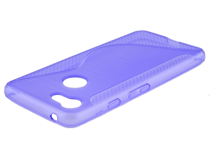 Wave Case for Google Pixel 3 - Purple Soft Cover