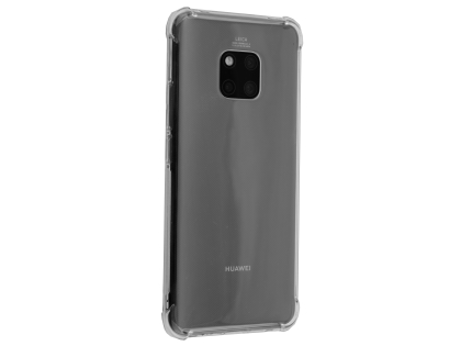 Gel Case with Bumper Edges for Huawei Mate 20 Pro - Clear Soft Cover