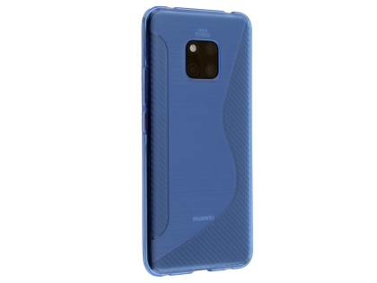 Wave Case for Huawei Mate 20 Pro - Blue Soft Cover