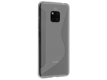Wave Case for Huawei Mate 20 Pro - Clear Soft Cover
