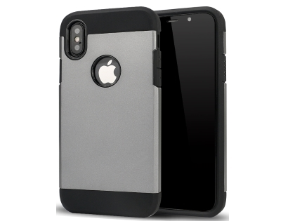 Impact Case for Apple iPhone Xs Max - Grey/Black