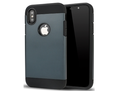 Impact Case for Apple iPhone Xs Max - Midnight Blue/Black Impact Case