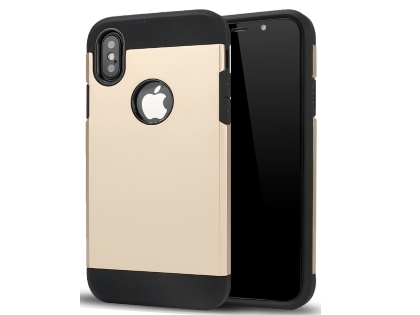 Impact Case for Apple iPhone Xs Max - Gold/Black