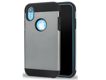 Impact Case for Apple iPhone XR - Grey/Black Impact Case