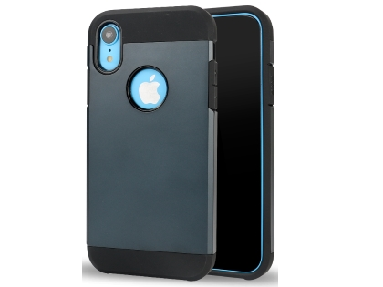 Impact Case for Apple iPhone XR - Midnight Blue/Black Impact Case