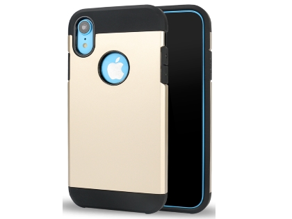Impact Case for Apple iPhone XR - Gold/Black Impact Case