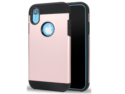 Impact Case for Apple iPhone XR - Rose Gold/Black Impact Case