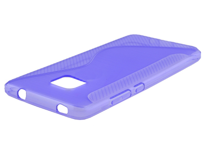 Wave Case for Huawei Mate 20 Pro - Purple Soft Cover