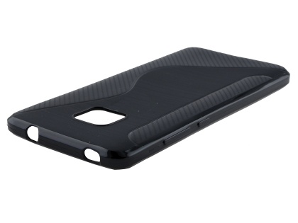 Wave Case for Huawei Mate 20 Pro - Black Soft Cover