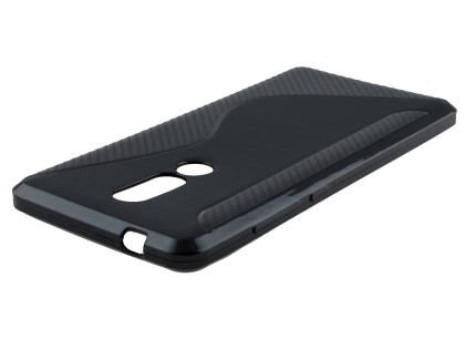 Wave Case for Nokia 7.1 - Black Soft Cover