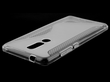 Wave Case for Nokia 7.1 - Clear Soft Cover