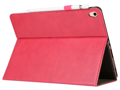 Synthetic Leather Flip Case with Stand for iPad Pro 12.9 (2018) - Pink Leather Flip Case