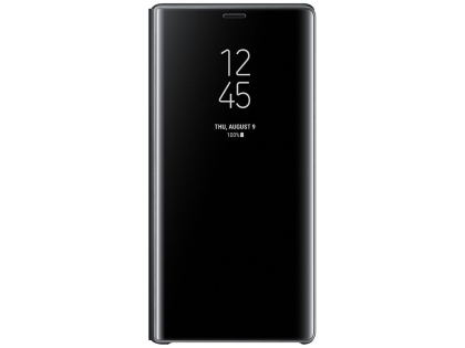 Genuine Samsung Galaxy Note9 Clear View Standing Cover - Black S View Cover