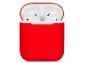 Soft Silicone Case for Apple AirPods  - Red Sleeve