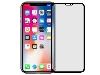 Anti Glare Tempered Glass Screen Protector for the Apple iPhone Xs Max - Black Screen Protector