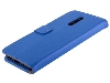 Synthetic Leather Wallet Case with Stand for Nokia 3.2 - Blue Leather Wallet Case