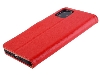 Premium Leather Wallet Case for Apple iPhone 11 Pro Max - Red Leather Wallet Case