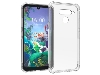 Gel Case with Bumper Edges for LG Q60 - Clear Soft Cover