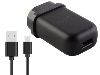 Genuine HTC 2A/10W AC Charger with USB-A to Micro USB cable - Black AC Wall Charger