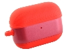 Soft Silicone Case for Apple AirPod Pros - Rosy Red Sleeve