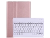 Keyboard and Case for Samsung Galaxy Tab S7 - Rose Gold Keyboard