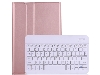 Keyboard and Case for Samsung Tab A7 10.4 (2020) - Rose Gold Keyboard