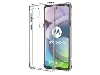 Gel Case with Bumper Edges for Motorola Moto G 5G - Clear Soft Cover