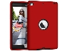 Impact Case for iPad Mini 4 - Red/Black Impact Case
