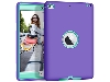 Impact Case for iPad Mini 4 - Purple/Mint Impact Case