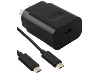 Genuine Huawei 3A AC Charger with USB-C to USB-C Cable - Black AC Wall Charger