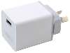 Genuine OPPO VOOC AK955 5A Fast Charging Adapter - White AC USB Power Adapter